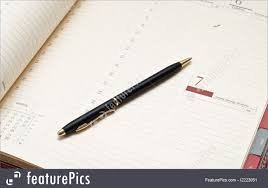 Agenda Office Office And Close Up Agenda And Pen Stock Photo I2223951 At