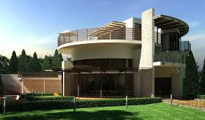 elegant design home. Elegant Modern House Design Green Garden Round Style Architecture Home E