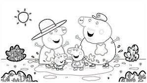 Small Picture Dibujos para Colorear e Imprimir de Peppa Pig La Cerdita Amigable