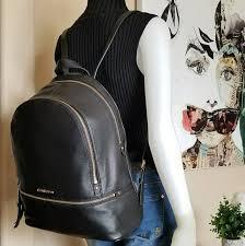 rhea large zip black backpack m 5a6e178905f43017e587d031