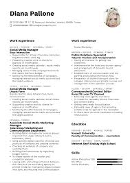 Impressive social media manager resume examples & samples. L Oreal Social Media Manager Resume Sample Kickresume