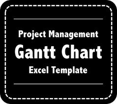 Project Timeline Gantt Chart Excel Model