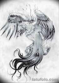 эскизы тату феникса для девушек 08032019 028 Tattoo Sketches