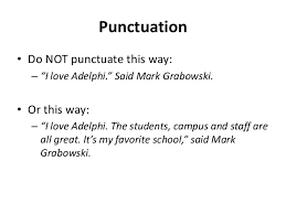 Quote Punctuation