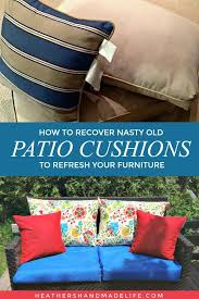 re cover patio furniture cushions