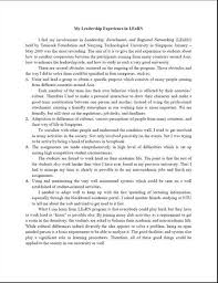 College admission essay on leadership   Professional Writing  www