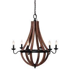 wine barrel lighting. Overstock Vineyard Oil-rubbed Bronze 6-light Chandelier Wine Barrel Lighting R