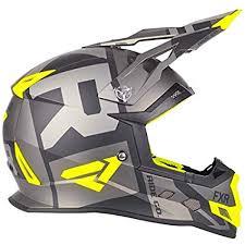 Amazon Com Fxr Racing Boost Clutch Snowmobile Helmet Black