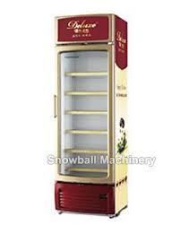 commercial upright freezer glass door