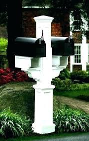 mailbox post design ideas. Wood Mailbox Mail Box Post Plans Wooden Posts  . Design Ideas O