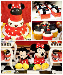 Karas Party Ideas Mickey Minnie Mouse Themed Birthday Party