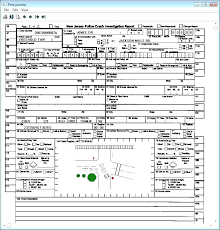 Police Reports Examples Car Accident Report Writing Sample Motor Vehicle Form Template