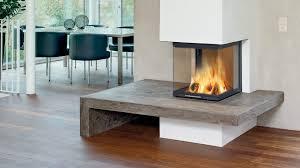 Moderne Feuerstelle Der Heizkamin Kachelofenweltde