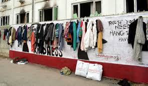 """Wall of kindness"": gentilezza e solidarietà per i meno fortunati"