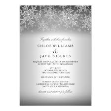 silver wedding invitations & announcements zazzle Crystal Wedding Invitation Frame crystal snowflake silver winter wedding invitation Rhinestone Wedding Invitations