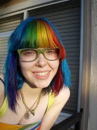 New Rainbow Colourful Hair