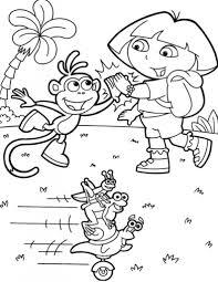 Kleurplaat Dora Kleurplaat 8473 Kleurplaten Regarding Dora