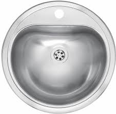 reginox commercial atlantis stainless steel inset sink without overflow