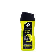 Adidas Pánský Sprchový Gel A šampón Pure Game 250 Ml