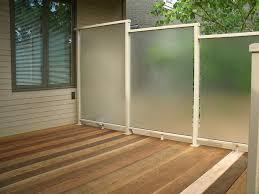deck privacy screen outdoor deck privacy walls