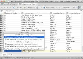 database tools intellij idea 13 whats new in database tools intellij idea blog