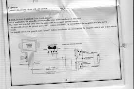 door lock wiring diagram