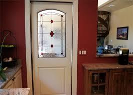 stained glass diamond interior doors