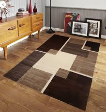 area rugs for bedroom dining living room modern brown space geometric 8x10