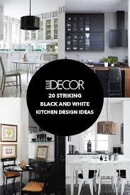 black and white kitchen ideas. Interesting Ideas For Black And White Kitchen Ideas K
