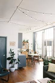 Loft Living Led String Lights 28 Ways To Use Those Magical String Lights Apartment Therapy