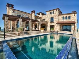 modern home architecture stone. Simple Stone Stone House And Swimming Pool Small Modern Pool Throughout Modern Home Architecture