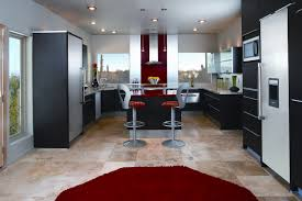 Red Floor Tiles Kitchen Kitchen Tile Flooring Ideas Island Kitchen Idea