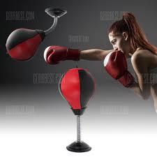 desktop punching bag stress relief boxing ball 14 99 free gearbest com