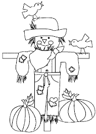Small Picture Free Scarecrow Coloring Pages Halloween Arts Coloring Pages
