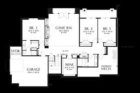 image for hendrick beautiful mountain ranch with great outdoor connection lower floor plan