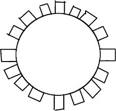 Sun Template Printable Sun Applique Line Art Printable Sun Template