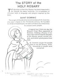 Rosary Coloring Page Rosary Coloring Page Sorrowful Mysteries Rosary