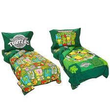 Ninja Turtle Bedroom Furniture Teenage Mutant Ninja Turtles 4 Piece Toddler Bedding Set Babiesrus