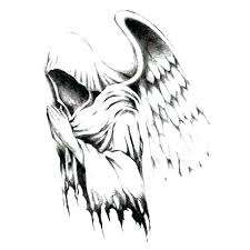 Angel Sketch How To Draw Angels Wearpapu Co