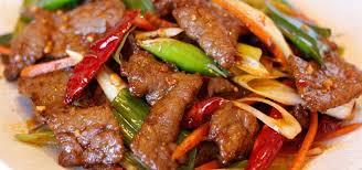 chinese restaurant food. Brilliant Chinese Mongolian Beef On Chinese Restaurant Food S