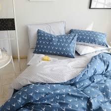 Blue Pattern Duvet Cover Simple Design Inspiration