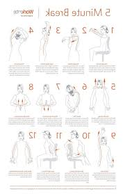 photo 2 of 9 best 25 desk exercises ideas on office workouts office yoga and work