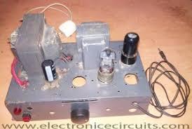 6v6 6j5 class a vacuum tube valve amplifier circuit electronic 6v6 6j5 class a valve tube audio amplifier schematic
