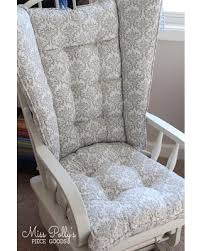 rocking chair cushions. Exellent Cushions Chair Cushions Wingback Glider 4 Post Rocking  Replacement Cushions Inside D