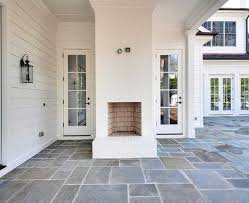 outdoor brick fireplace fantastic covered patio features a white brick outdoor fireplace