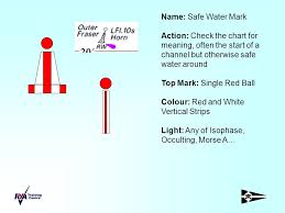 Safe Water Mark On Chart Buoyage Quick Quiz Ppt Download
