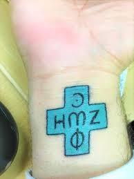 An Egyptian Christians Tattoo Writings Fredericacom