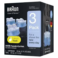 Braun Clean Renew Refill Cartridges For Clean Charge