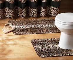 Leopard Bathroom Rugs