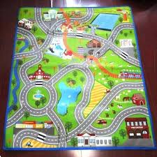 ikea car rug nursery rugs neutral kids play with roads baby carpets for crawling boys road